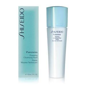 NIB! Shiseido Pureness Foaming Cleansing Fluid
